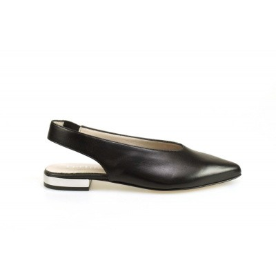 PERTINI DAMES SLINGBACKS ZWART 15839D2