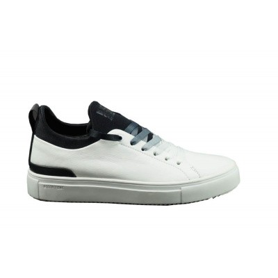 BLACKSTONE DAMES SNEAKER ZWART/WIT SD-68