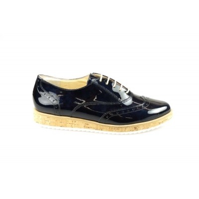 PAUL GREEN 1088-05 SOFTLACK STEELBLUE - VETERSCHOEN