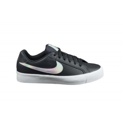 NIKE DAMES SNEAKERS ZWART COURT ROYAL AC
