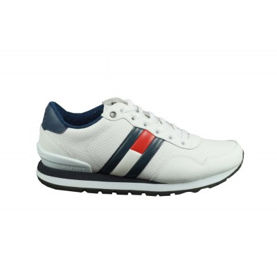 TOMMY HILFIGER HEREN SNEAKERS WIT LIFESTYLE JEANS