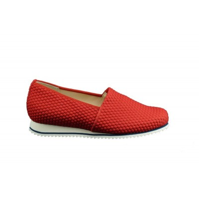 HASSIA DAMES INSTAPPERS ROOD 7-301687-4000