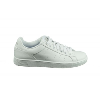 Foto van K-SWISS HEREN SNEAKERS WIT CLEAN COURT