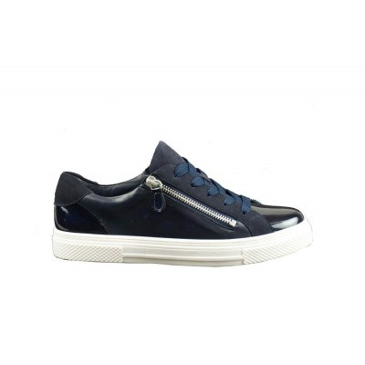 HASSIA DAMES SNEAKERS DONKERBLAUW 9-301233