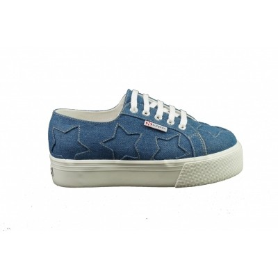 SUPERGA 2790 LIZZY DENIMPATCH - SNEAKER