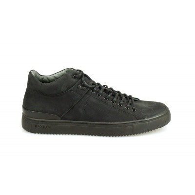 BLACKSTONE HEREN SNEAKERS ZWART QM-87