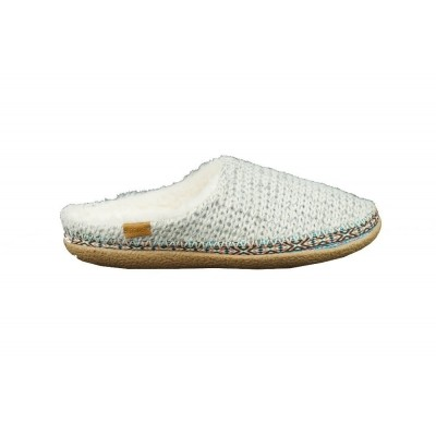 TOMS SWEATER KNIT IVY SLIPPER BIRCH - PANTOFFEL