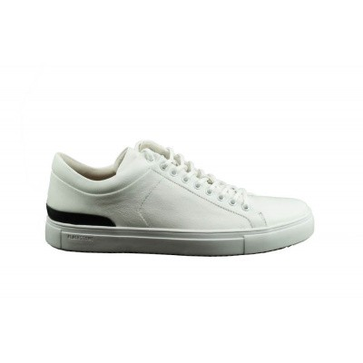 Foto van BLACKSTONE HEREN SNEAKER WIT PM-56
