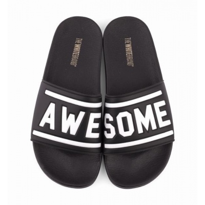 Foto van THE WHITE BRAND AWESOME 3D BLACK - SLIPPER