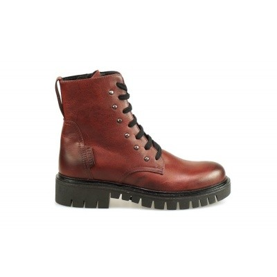 Foto van RED RAG DAMES HALFHOGE VETERSCHOENEN BORDEAUX 76504