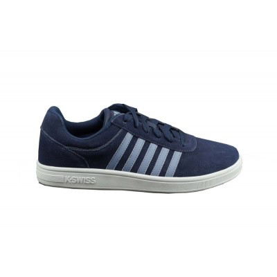 Foto van K-SWISS HEREN SNEAKERS BLAUW COURT CHESWICK
