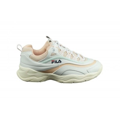 FILA DAMES SNEAKERS WIT/ROZE RAY