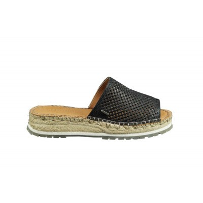 Foto van SHABBIES DAMES SLIPPERS ZWART 152020047 0001
