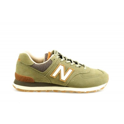 Foto van NEW BALANCE HEREN SNEAKERS GROEN ML574 D SOJ