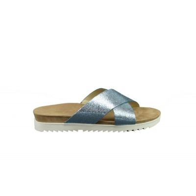 PAUL GREEN 7099-01 CRACKED METALLIC - SLIPPER