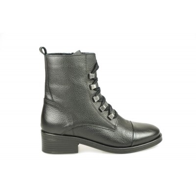 PS POELMAN P14946 RAIN BLACK - HALFHOGE VETERSCHOEN