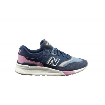 NEW BALANCE DAMES SNEAKERS DONKERBLAUW CW997 B HAM