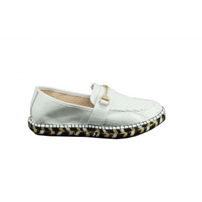 FRED DE LA BRETONIERE DAMES ESPADRILLE OFF-WHITE 152010081