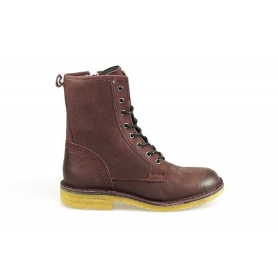 CA'SHOTT DAMES HALFHOGE VETERSCHOENEN BORDEAUX 18000 348