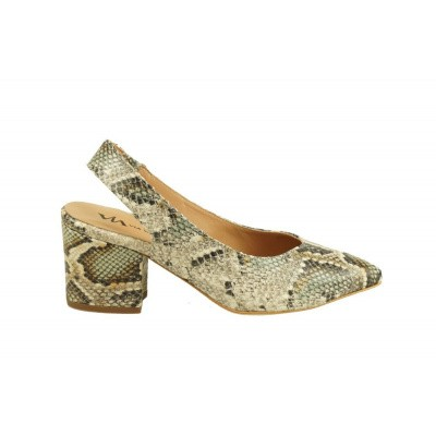 VIA VAI DAMES PUMPS SNAKE SLINGBACK LUCE