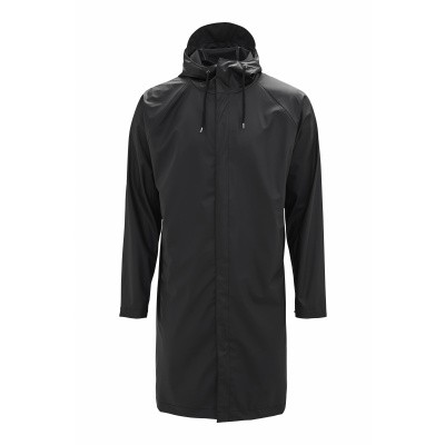 RAINS REGENJAS ZWART COAT