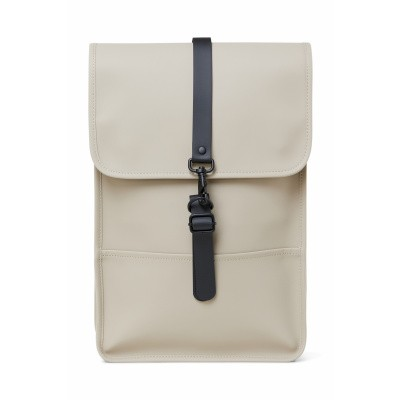 RAINS RUGZAK BEIGE BACKPACK MINI