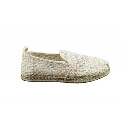Foto van TOMS DEC. ALPARGATA ROPE NATURAL LACE LEAVES - ESPRADILLE