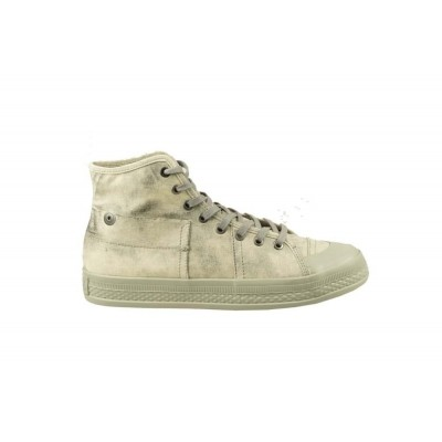 G-STAR RAW BRONSON INDUSTRIAL GREY - HALFHOGE VETERSCHOEN