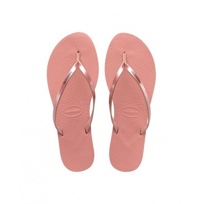 Foto van HAVAIANAS DAMES SLIPPERS ROZE YOU METALLIC