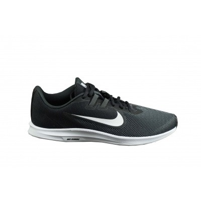 NIKE HEREN SNEAKER ZWART/WIT DOWNSHIFTER 9