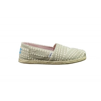TOMS ALPARGATA NATURAL OXFORD DIAMOND - ESPRADILLE