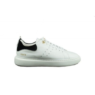 NUBIKK DAMES SNEAKERS WIT ROX CALF