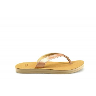 Foto van UGG DAMES SLIPPERS METALLIC ROSE GOLD TAWNEY