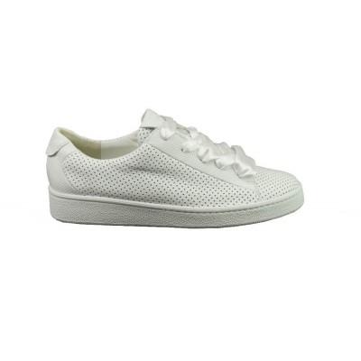 PAUL GREEN 4583-01 WHITE PERFO - SNEAKER