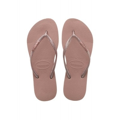 Foto van HAVAIANAS SLIM LOGO METALLIC ROSE - SLIPPER