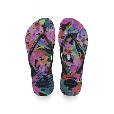 Foto van HAVAIANAS SLIM TROPICAL BLACK - SLIPPER