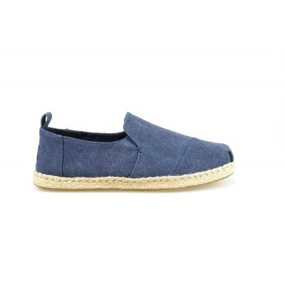 Foto van TOMS DECONSTRUCTED ALPARGATA ROPE NAVY WASHED - ESPRADILLE