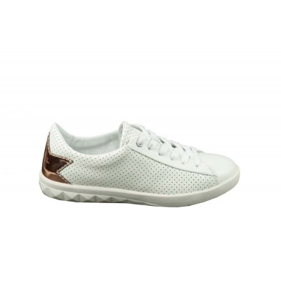 Foto van DIESEL S-OLSTICE LOW WHITE/COPPER - SNEAKER