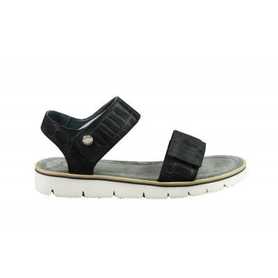 CA'SHOTT 17116 BLACK CROCO - SANDAAL