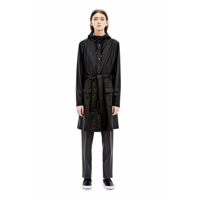 RAINS CURVE JACKET BLACK - REGENJAS