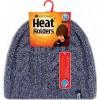 Afbeelding van Heat Holders Ladies cable hat navy one zize