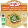 Afbeelding van Babybio Mon petit plat kalkoen groenten