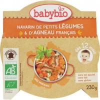 Babybio Mon petit plat lam groenten