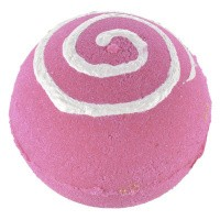 Treets Bath ball pink swirl