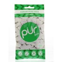 PUR Spearmint gum blister