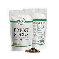 Teatox Bio Thee Fresh focus green tea ginkgo bio refill
