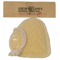 Aleppo Soap Co Loofa natuurspons hart