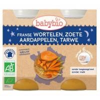 Babybio Wortel & zoete aardappel tarwe 200 gram