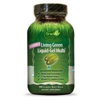 Irwin Naturals Living green liquid gel multi for women
