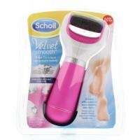 Scholl Velvet smooth start electronische voetvijl roze